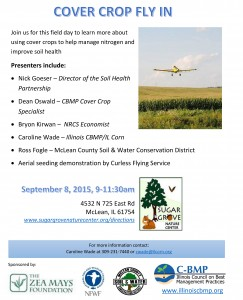 2015 McLean County SWCD Cover Crop Fly In