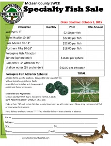 Fall Specialty Fish Order Form 2015