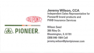 Jeremy Wilson Pioneer Dupont