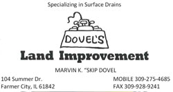 Dovel's Land Improvement